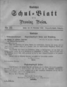 Amtliches Schul-Blatt für die Provinz Posen 1906.11.20 Jg.39 Nr22