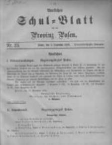 Amtliches Schul-Blatt für die Provinz Posen 1906.12.05 Jg.39 Nr23