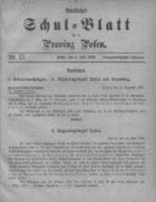 Amtliches Schul-Blatt für die Provinz Posen 1906.07.05 Jg.39 Nr13