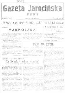 Gazeta Jarocińska 1991.07.26 Nr41(II)