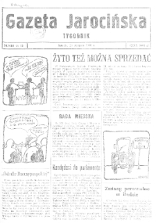 Gazeta Jarocińska 1991.08.23 Nr46(II)