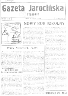 Gazeta Jarocińska 1991.08.30 Nr47(II)