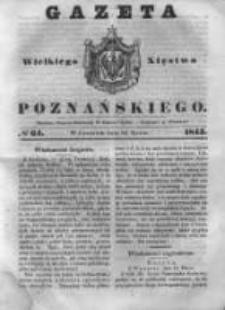 Gazeta Wielkiego Xięstwa Poznańskiego 1843.03.16 Nr64