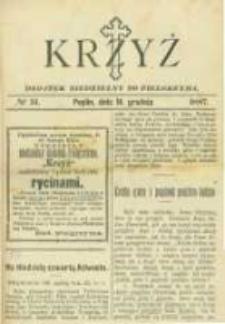 """Krzyż: dodatek niedzielny do """"Pielgrzyma"""". 1887.12.18 No51"""