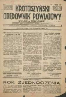 Krotoszyński Orędownik Powiatowy 1938.01.01 R.63 Nr1