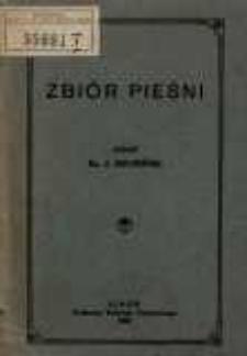 Zbiór pieśni / zebrał J. Krupiński.