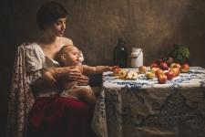 Portret Matki z Dzieckiem