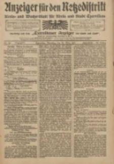 Anzeiger für den Netzedistrikt Kreis- und Wochenblatt für Kreis und Stadt Czarnikau 1910.03.29 Jg.58 Nr38