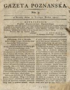 Gazeta Wielkiego Xięstwa Poznańskiego 1815.02.01 Nr9