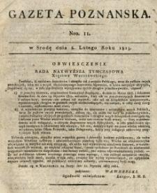 Gazeta Wielkiego Xięstwa Poznańskiego 1815.02.08 Nr11
