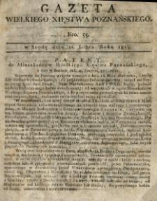 Gazeta Wielkiego Xięstwa Poznańskiego 1815.07.12 Nr55