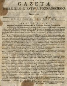 Gazeta Wielkiego Xięstwa Poznańskiego 1815.07.19 Nr57
