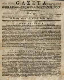 Gazeta Wielkiego Xięstwa Poznańskiego 1815.07.26 Nr59
