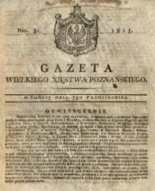 Gazeta Wielkiego Xięstwa Poznańskiego 1815.10.07 Nr80
