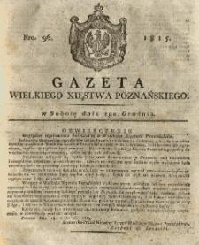 Gazeta Wielkiego Xięstwa Poznańskiego 1815.12.02 Nr96