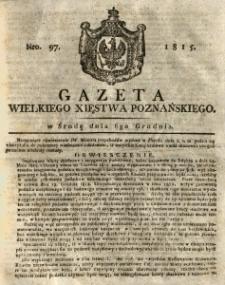 Gazeta Wielkiego Xięstwa Poznańskiego 1815.12.06 Nr97