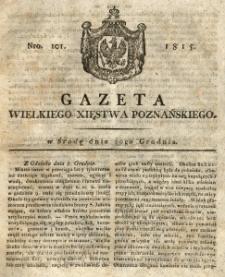 Gazeta Wielkiego Xięstwa Poznańskiego 1815.12.20 Nr101