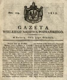 Gazeta Wielkiego Xięstwa Poznańskiego 1815.12.30 Nr104