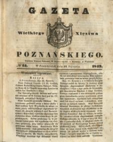 Gazeta Wielkiego Xięstwa Poznańskiego 1843.01.30 Nr25