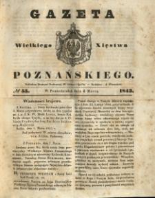 Gazeta Wielkiego Xięstwa Poznańskiego 1843.03.06 Nr55