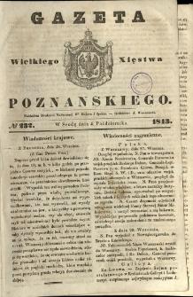 Gazeta Wielkiego Xięstwa Poznańskiego 1843.10.04 Nr232