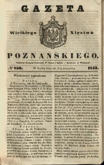 Gazeta Wielkiego Xięstwa Poznańskiego 1843.10.25 Nr250