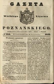 Gazeta Wielkiego Xięstwa Poznańskiego 1843.10.30 Nr254