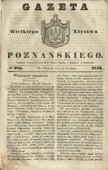 Gazeta Wielkiego Xięstwa Poznańskiego 1843.12.05 Nr285