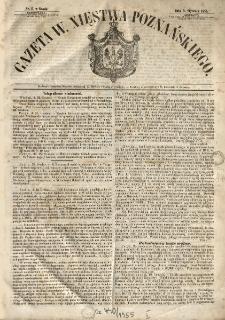 Gazeta Wielkiego Xięstwa Poznańskiego 1855.01.03 Nr1