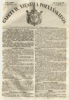 Gazeta Wielkiego Xięstwa Poznańskiego 1855.02.25 Nr47
