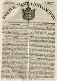 Gazeta Wielkiego Xięstwa Poznańskiego 1855.04.14 Nr86