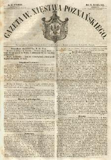 Gazeta Wielkiego Xięstwa Poznańskiego 1855.04.15 Nr87