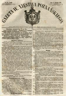 Gazeta Wielkiego Xięstwa Poznańskiego 1855.04.18 Nr89