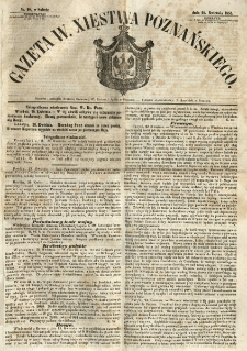 Gazeta Wielkiego Xięstwa Poznańskiego 1855.04.28 Nr98
