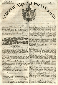 Gazeta Wielkiego Xięstwa Poznańskiego 1855.05.08 Nr105