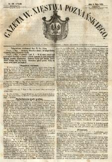 Gazeta Wielkiego Xięstwa Poznańskiego 1855.05.09 Nr106
