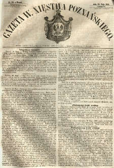 Gazeta Wielkiego Xięstwa Poznańskiego 1855.05.22 Nr116