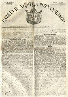 Gazeta Wielkiego Xięstwa Poznańskiego 1855.07.21 Nr167