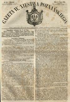 Gazeta Wielkiego Xięstwa Poznańskiego 1855.08.05 Nr180