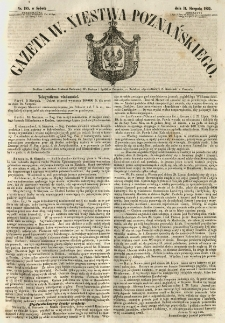 Gazeta Wielkiego Xięstwa Poznańskiego 1855.08.11 Nr185