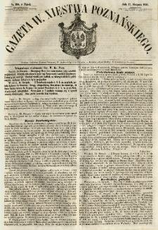 Gazeta Wielkiego Xięstwa Poznańskiego 1855.08.17 Nr190