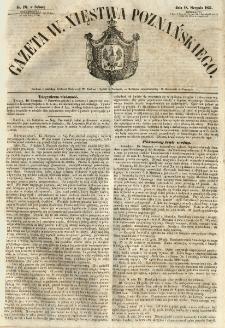 Gazeta Wielkiego Xięstwa Poznańskiego 1855.08.18 Nr191
