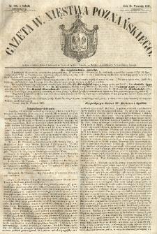 Gazeta Wielkiego Xięstwa Poznańskiego 1855.09.15 Nr215