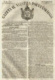 Gazeta Wielkiego Xięstwa Poznańskiego 1855.10.26 Nr250