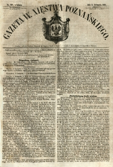 Gazeta Wielkiego Xięstwa Poznańskiego 1855.11.03 Nr257