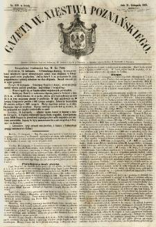 Gazeta Wielkiego Xięstwa Poznańskiego 1855.11.21 Nr272