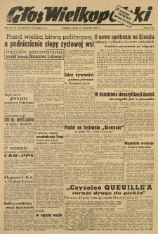 Głos Wielkopolski. 1948.09.14 R.4 nr253 Wyd.AB