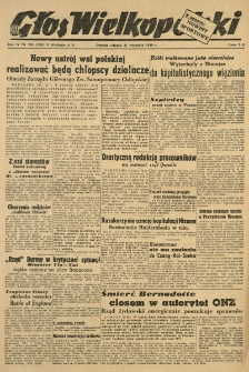 Głos Wielkopolski. 1948.09.21 R.4 nr260 Wyd.AB