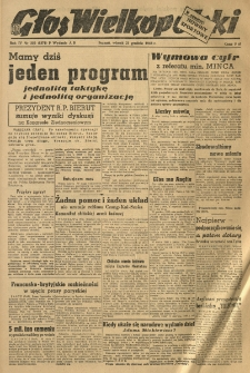 Głos Wielkopolski. 1948.12.21 R.4 nr350 Wyd.AB