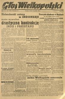 Głos Wielkopolski. 1948.12.28 R.4 nr355 Wyd.AB